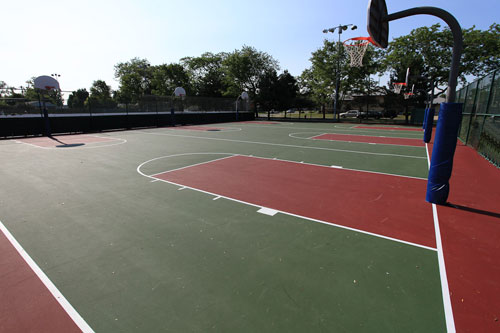 Outdoor Pass (Basketball Courts)